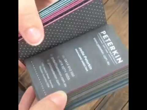 We made these 864gsm business cards with white ink printing because we made these 864gsm business cards with white ink printing because we can youtube colourmoves