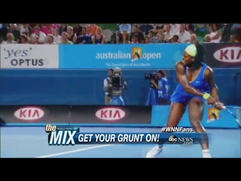 MIX: The Science Behind Tennis Players' Grunts