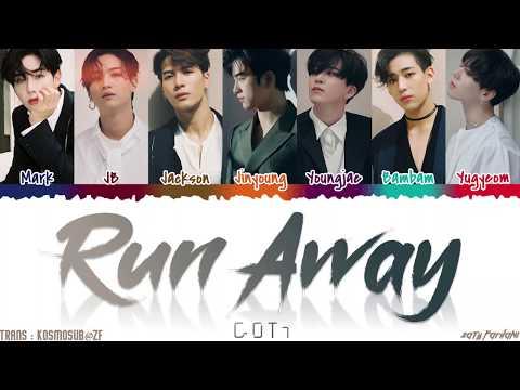 GOT7 - 'RUN AWAY' Lyrics [Color Coded_Han_Rom_Eng]