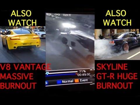 Rocían de gasolina e incendian un Lamborghini Aventador