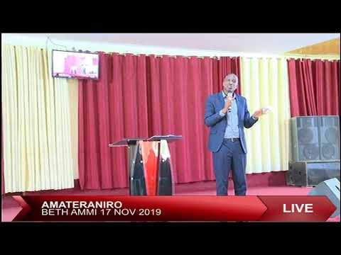 AMATERANIRO BETH AMMI 17 NOVEMBER 2019