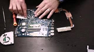Как разобрать ноутбук Lenovo g50-70 ГЛАВКОМП