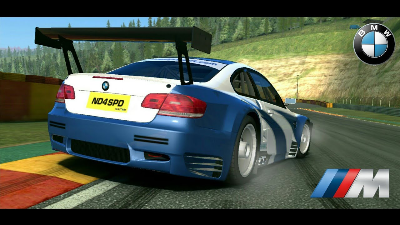 real racing 3 bmw m3 e92 gt2 alms need for speed