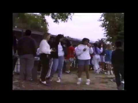 De Anza Middle School Field Day March 31, 1991