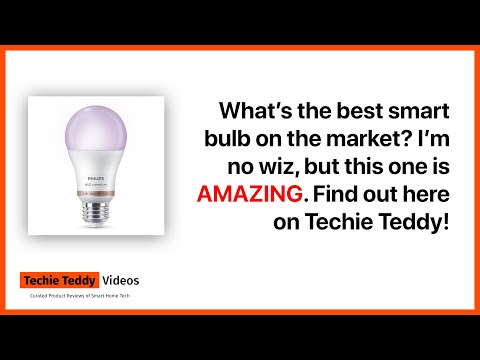 Philips Hue Smart Bulb Powered by Wiz? Unboxing, Setup, and Functionality Review 4K