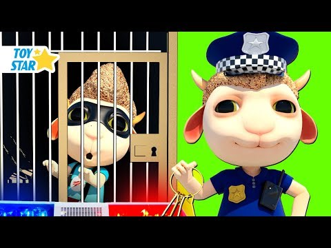 New 3D Cartoon For Kids 娄 Dolly And Friends 娄 Dolly Catching A Thief With Baby Police #105