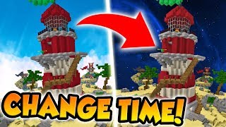 PLAY ANY MINECRAFT BED WARS MAP AT NIGHT!