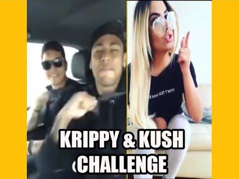 Krippy Kush Challenge Famosos ( Neymar y...