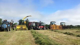 Walsh Agri at Silage in Mayo 2014.