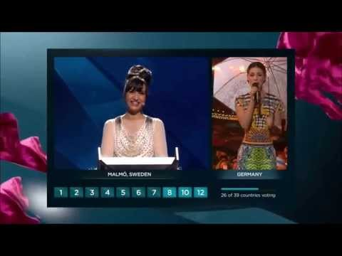 Eurovision 2013 : Vote of Germany (HD) (1080p)
