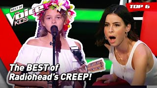The BEST Blind Auditions of CREEP by Radiohead on The Voice Kids! 😍   Top 6