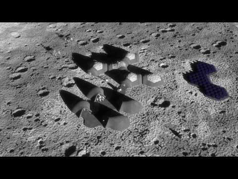 Regolight - solar sintering - 3D-printing lunar bases using only the sun and the lunar dust