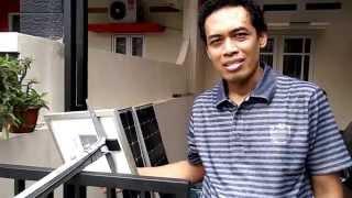 Cara Memasang Lampu PJU Mini Tenaga Surya
