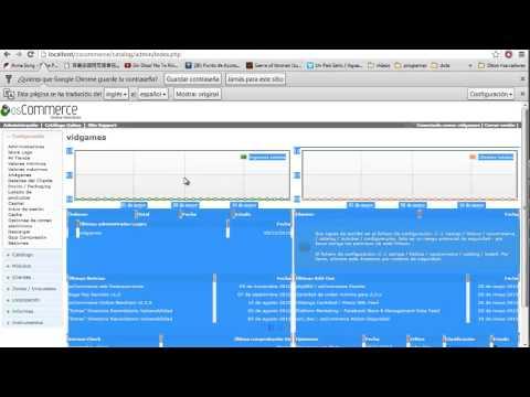 How To Install Xampp And OScommers(como Instalar Xampp Y OScommerce
