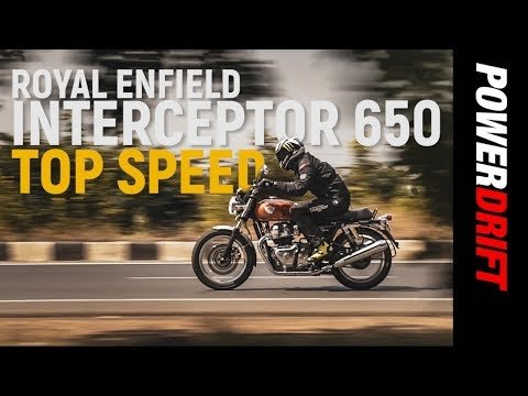 Royal Enfield Interceptor 650 : Top-speed run : PowerDrift