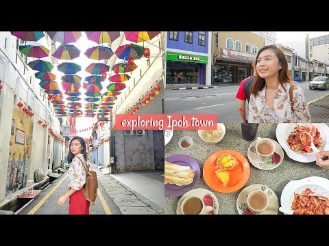 VLOG: Exploring Ipoh Town & Why Haven't We Done This?