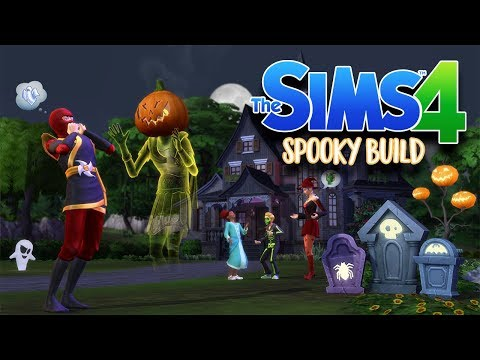SPOOKY BEDROOM BUILD | The Sims 4 Build | Sims 4 Room Build