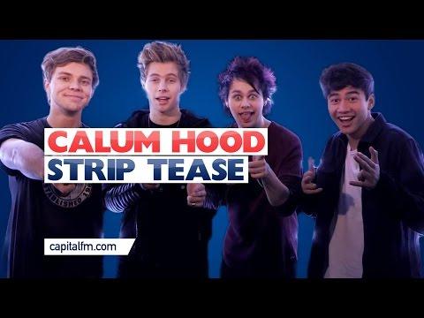 5SOS's Calum Hood Does A Strip Tease!