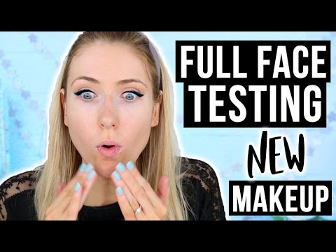 FULL FACE First Impressions || Trying NEW Drugstore & Sephora Makeup