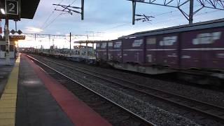 ≪JRF≫DF200牽引コンテナ【通過ジョイント音】JR北海道 苫小牧駅