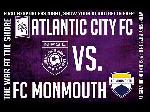 Atlantic City FC Vs. FC Monmouth 5/9/18 NPSL