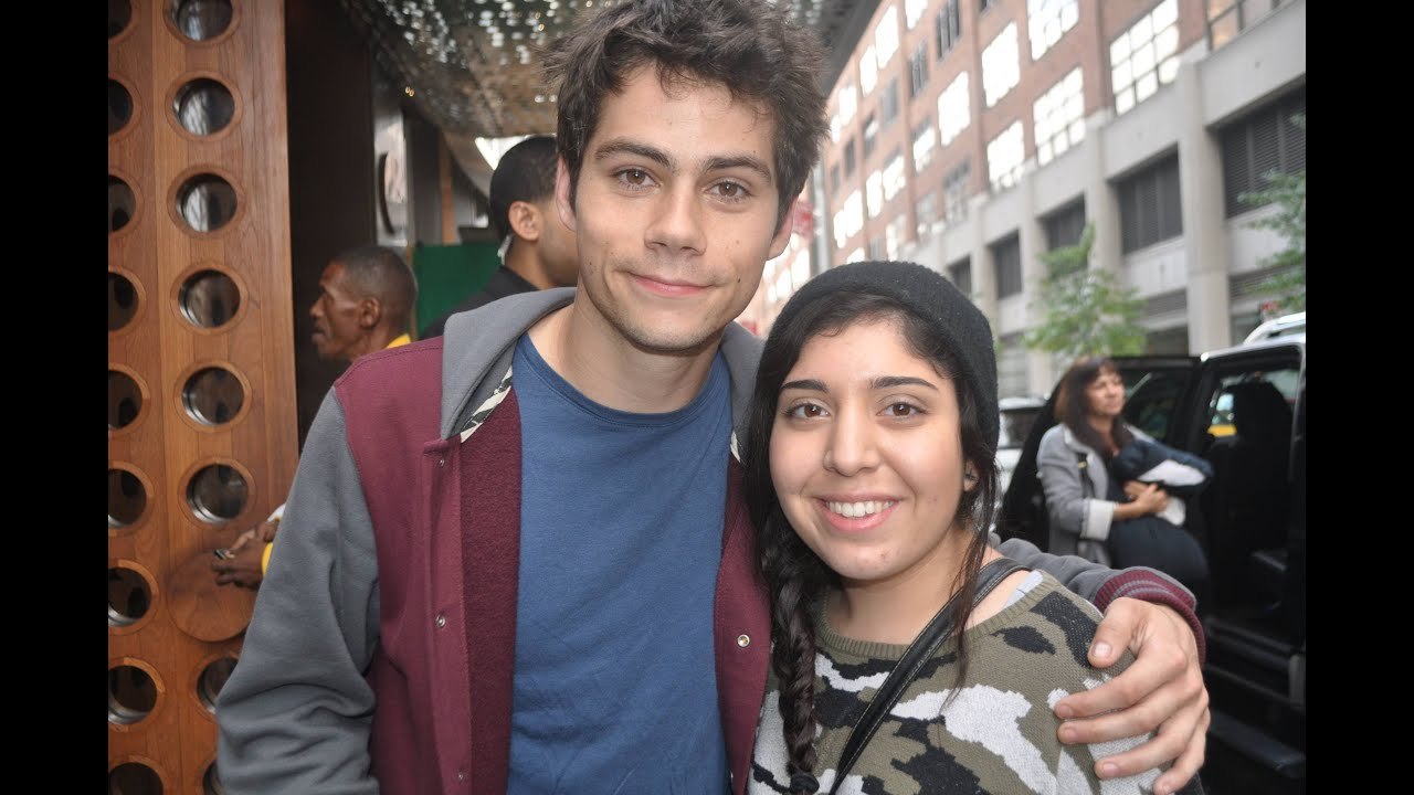 meeting dylan o brien youtube