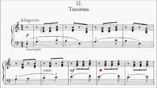 RCM Piano 2015 Grade 6 Study No.4 Kabalevsky Toccatina Op.27 No.12 Sheet Music
