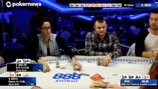 Sin Melin Pulls Off Sick Bluff at 888Live in London