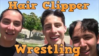 Wrestling with Hairclippers????*Gone too Far*