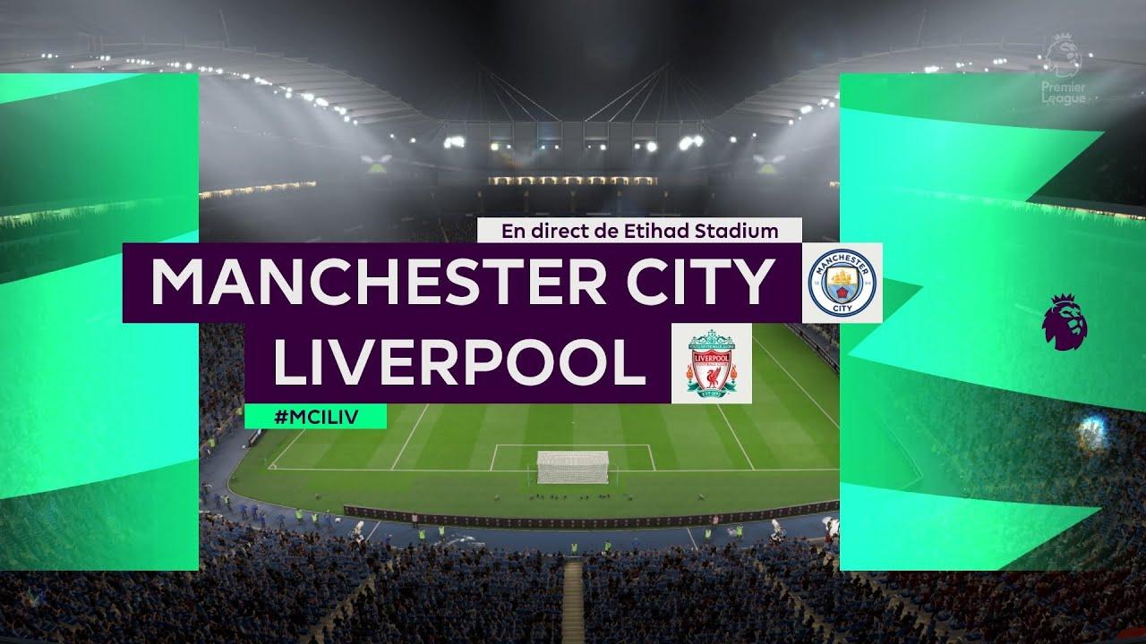 Manchester City vs Liverpool / Premier League / Highlights ...