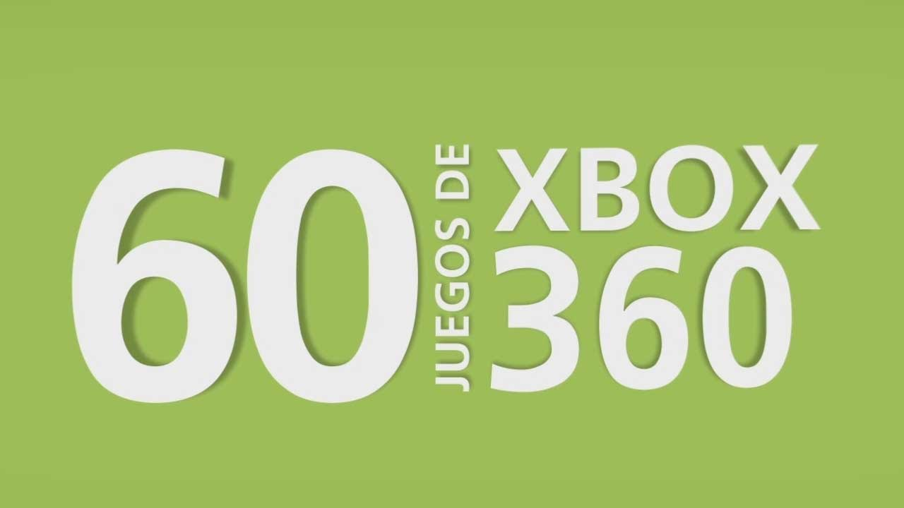 A jugar: ¡60 juegos de Xbox 360 en 60 segundos! ¿Cuántos aciertas?