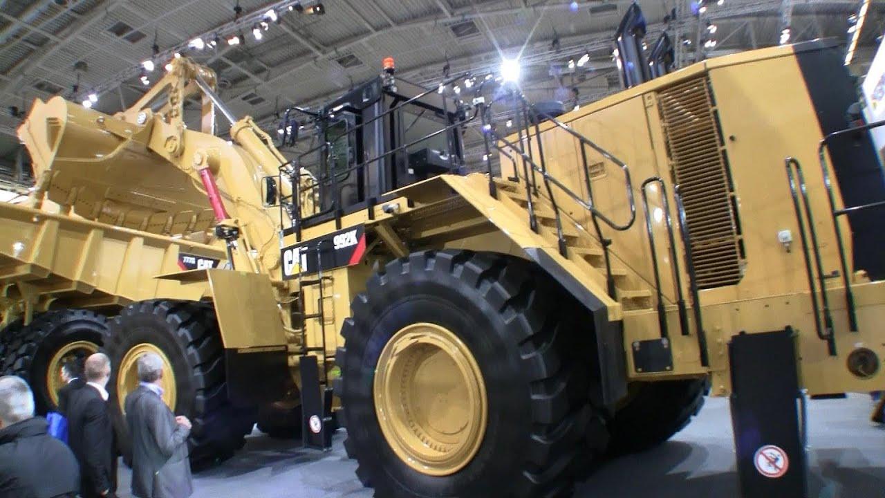 The Big Cat 992k And 777g Bauma 2013 Youtube