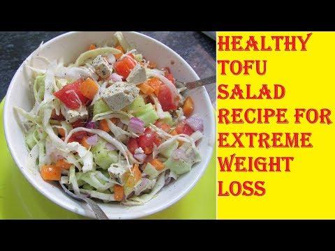 Tofu Salad Recipe | Salad for Weight Loss | How to Make a Healthy Salad | Salad Bowl | Salad Recipes