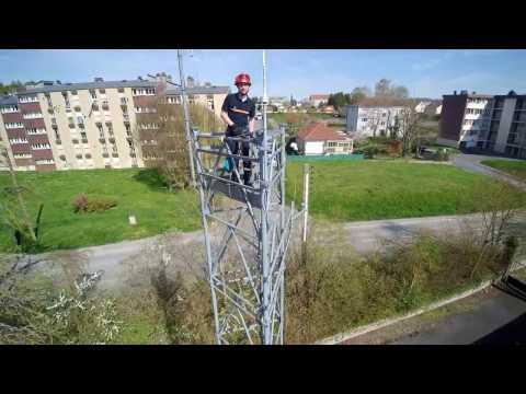 Intervention pylône radio - ADRASEC 08