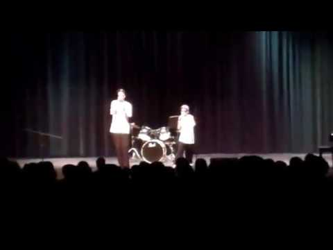 Chiddy Bang Qadry and AC at Patterson Mill Middle School Talent Show