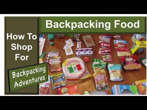 How To Shop For Backpacking Food - YouTube