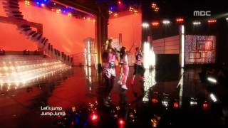 4Minute - Hot Issue, 포미닛 - 핫이슈, Music Core 20090718