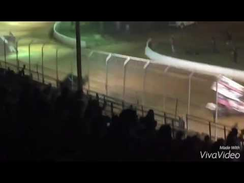 Greg Hodnet- James McFadden crash, Port Royal speedway