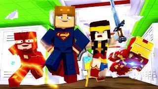 Minecraft Daycare - MOOSECRAFT GETS SUPERHERO POWERS MINECRAFT ROLEPLAY