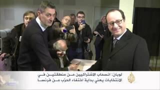 الجبهة الوطنية تتصدر الانتخابات المحلية الفرنسية