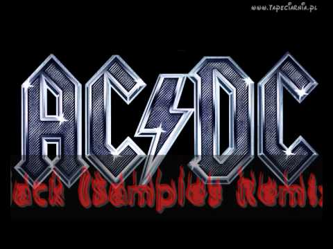 AC/DC -- Back In Black (Samples Remix) HIGH QUALITY ..::DUBSTEP::..