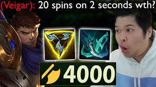 I play Garen aฑd go Full Attack Speed but I spin 20 times and Beyblade anyone who comes near me
