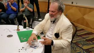 Johnny ace magic close up Super cool magic trick  ala AGT STYLE PHILA TV