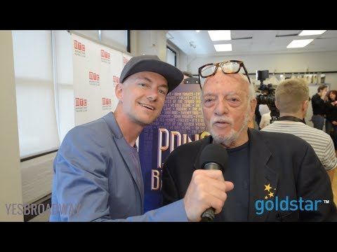 """Go Behind the Scenes at """"Prince of Broadway"""" (Interview With Harold Prince!)"""