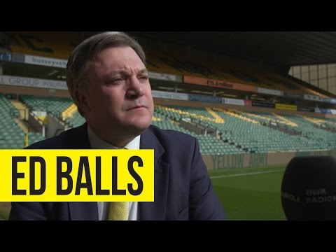 Ed Balls On Alex Neil's Departure