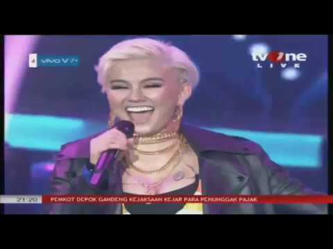 Agnez Mo - Beautiful Mistake Live at #VivoV7Plus Launching