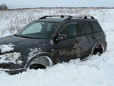 Mitsubishi Outlander (тест-драйв Митсубиси Аутлендер не ...