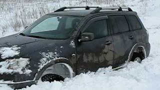 Mitsubishi Outlander (тест-драйв Митсубиси Аутлендер не удался