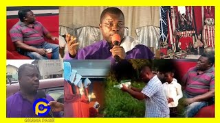 Odifour Kwabena Tawiah exposɛd by his junior pastor for being a fɛtish priɛst & also do sacrifices