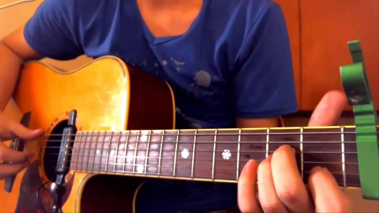 Skyfall Chords Adele Chordsworld Guitar Tutorial Youtube